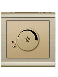 Pole Wall Switch Promise Dimming Switch Champagne Gold Panel Sockets