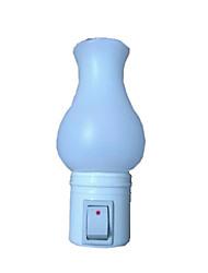 Red and White LED Vast Bottle Night Light vast Lamp Home Decoration LED Wall Lamp