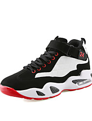 Men's Athletic Shoes Casual Sports Shoes Flat Heel Black / Black and White Basketball Shoes EU39-43