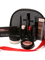 FOCALLURE 8Pcs Makup Tool Kit