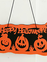 Decorate Halloween Props  Happy Halloween Bar KTV Party Decoration Pendant And Quotation 50*21cm