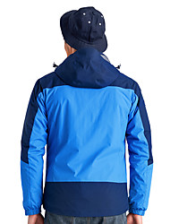 Trilha Jaquetas Softshell Homens Impermeável / Respirável / Mantenha Quente / A Prova de Vento / Vestível Inverno TactelAzul / Azul Real