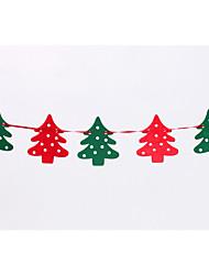 bandeiras 2,2 m sentiu alces natal guirlanda bandeira bandeira decorações do Natal da janela do Natal adereços decoração do partido