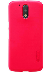 For Motorola Moto X Play G4 Plus Frosted Case Back Cover Case Solid Color Hard PC for Moto G4 Play Moto Z
