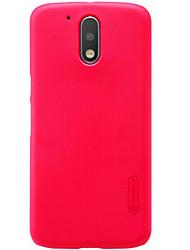 Pour Dépoli Coque Coque Arrière Coque Couleur Pleine Dur Polycarbonate pour Motorola Moto X Play Moto G4 plus Moto G4 Play Moto Z