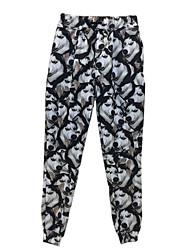 Women's Print Pink Sweatpants PantsSimple / Boho / Active Fall / Winter