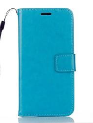 Pour Coque Mi Portefeuille Porte Carte Avec Support Coque Coque Intégrale Coque Couleur Pleine Dur Cuir PU pour Xiaomi Xiaomi Redmi Note 3