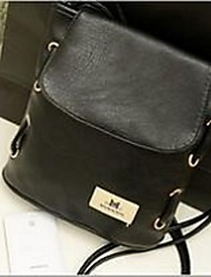 Women Shoulder Bag PU Casual Black Orange Brown Green