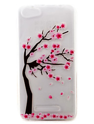 For Wiko Case Pattern Case Back Cover Case Flower Soft TPU Wiko Wiko Lenny 3 / Wiko Lenny 2