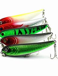 1 pcs Lápis Lápis Preto / Verde / Branco / Amarelo / Vermelho 5.7 g Onça mm polegada,Plástico Duro Isco de Arremesso