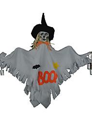 1pc Halloween accessoires cloches suspendues danse ornements de fête tête squelette