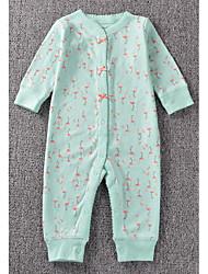 Ensemble de Vêtements bébé Imprimé Décontracté / Quotidien Coton Toutes les Saisons-Vert / Rose / Rouge