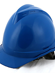 casco de seguridad abs (azul)