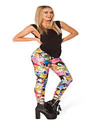 Digital Printing Printing Star Outer Wear Leggings