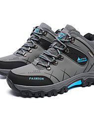Men's Sneakers Spring / Fall Comfort PU Casual Flat Heel Green / Gray / Khaki Sneaker