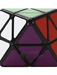 LanLan® Cube velocidade lisa Octaedro Velocidade Cubos Mágicos Preta Etiqueta lisa / Anti-pop ABS