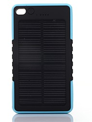 SUNWALK 8000mAh Portable Solar Charger Power Bank Shockproof USB Solar Battery Backup External Battery for Mobile Phone