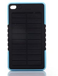 8000mAhmAhbanco do poder de bateria externa Recarga com Energia Solar / Lanterna 8000mAh 1000mA Recarga com Energia Solar / Lanterna