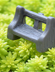 Moss Micro Landscape Ornaments Meaty Plant Furnishing Articles Dark Antique Bench DIY Materials Potted Decoration