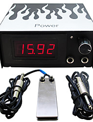 Solong Tattoo Dual Machine Tattoo Power Supply for Machine  Needle Grip Ink Kit P101