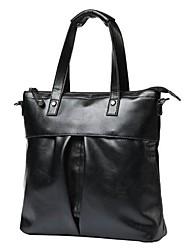 Men PU Office & Career Laptop Bag Black