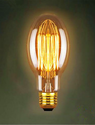 C75 Straight Silk Edison Antique Retro Decorative Light Bulbs (40W E27)
