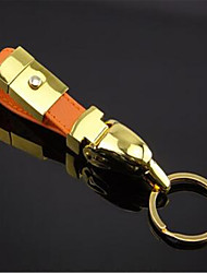 Leather Car Key Ring Metal Eagle Key Ring
