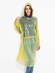 Hiking Raincoat/Poncho Unisex Waterproof / Windproof / Lightweight Materials  PE
