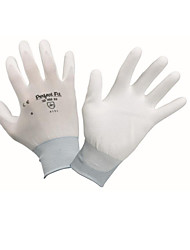 PU Coating Wear Resistant Protective Gloves Size 8