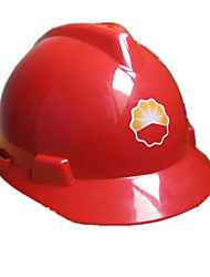 Protective Helmets For Construction Sites  (Red)