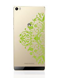 Para Traslúcido / Diseños Funda Cubierta Trasera Funda Mandala Suave TPU Huawei Huawei P9 / Huawei P9 Lite / Huawei P8 / Huawei P8 Lite