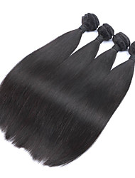 8A Malaysian Hair 4 Bundles Malaysian Silk Straight Human Hair Weave Malaysian Virgin Hair Extensions Hair Weaves