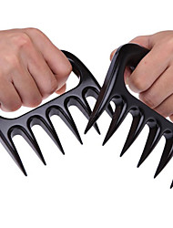 New Hot Cooking Tool BBQ Tool Bear Meat Claw Shredding Lift Tongs Pull Handler Handling 1 Pair