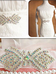 Satin Wedding Sash-Beading Pearls Beading Pearls
