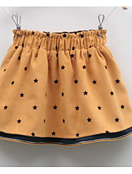 Girl Casual/Daily Print Skirt-Polyester Fall