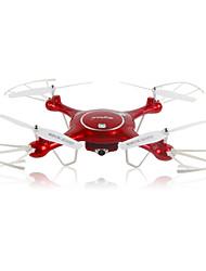 Dron SYMA X5UW 4 Canales 6 Ejes 2.4G Con Cámara 720P HD Quadcopter RCIluminación LED / Retorno Con Un Botón / Modo De Control Directo /