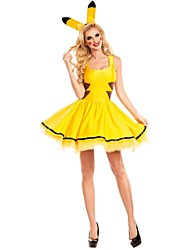 Maclover Pikapika Costumes Adult Sexy Animal Cosplay Women Halloween Costumes Female Clubwear Party Wear