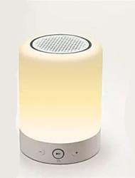 Интеллектуальный светодиодный атмосфера динамик аудио автомобиля Bluetooth динамик с функцией FM-радио