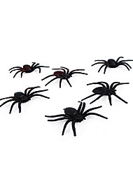 (Color random)1PC Halloween Haunted House Decoration Bar KTV Prop Scene Layout Spider Silk And Spider Web