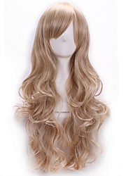 Hot Selling Light Blonde Color Synthetic Cheap Cosplay Wigs For Women Party Wigs