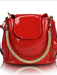 Women Patent Leather Casual / Outdoor Shoulder Bag