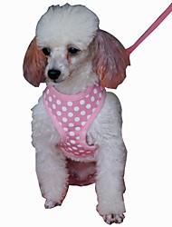 Cães Arreios / Trelas Retratável / Fantasias / Respirável / Segurança / Macio / Corrida / Colete / Casual SólidoPreto / Verde / Azul /