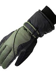 Ski Gloves Winter Gloves Men's Activity/ Sports Gloves Keep Warm Ski & Snowboard / Snowboarding / Motorbike PU Ski Gloves Winter