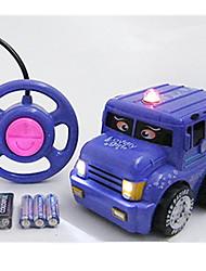 Car Racing 566-4C 1:10 Brush Electric RC Car / 2.4G Blue Ready-To-Go Remote Control Car
