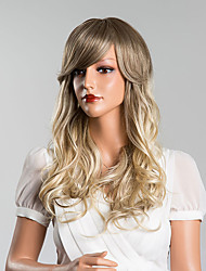 Attractive Long Body Wave Capless Wigs High Quality Human Hair Mixed Color