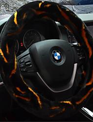 o carro define a cobertura de volante no inverno