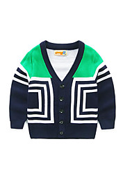 Boy's Casual/Daily Striped Sweater & CardiganAcrylic Spring / Fall Green / Orange / Red