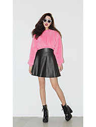 stylenanda playful candy-colored short paragraph hedging sweater ~