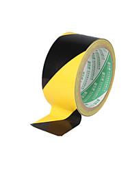 (Note 2 emballage noir et jaune taille 1800 cm * 4.8cm *) Ruban d'avertissement