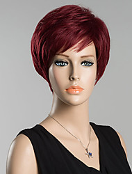 Short Straight  Human Hair Wig For Women